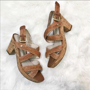 Dana Buchman • Braided Cork Sandals